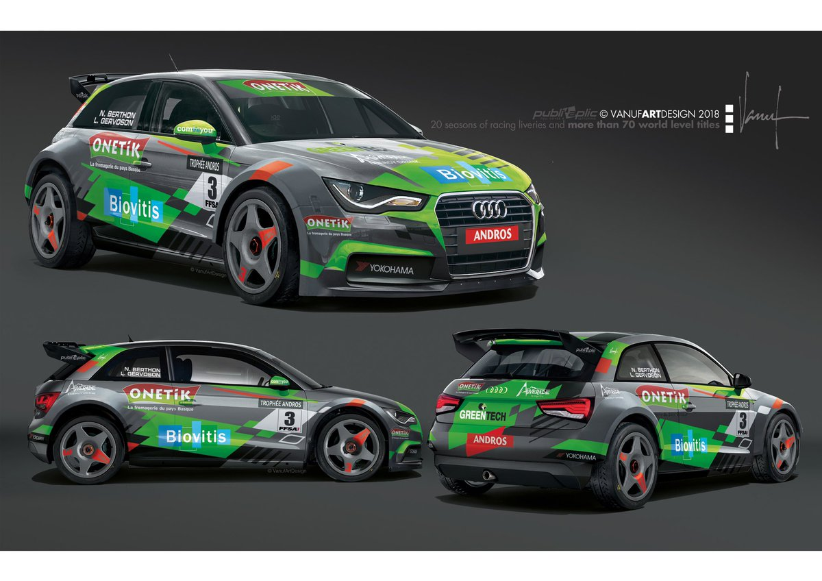 @NatBerthon and @gervosonlouis @TropheeAndros_ for one more year ! New colours of the @audisport ! See you @ValThorensTours