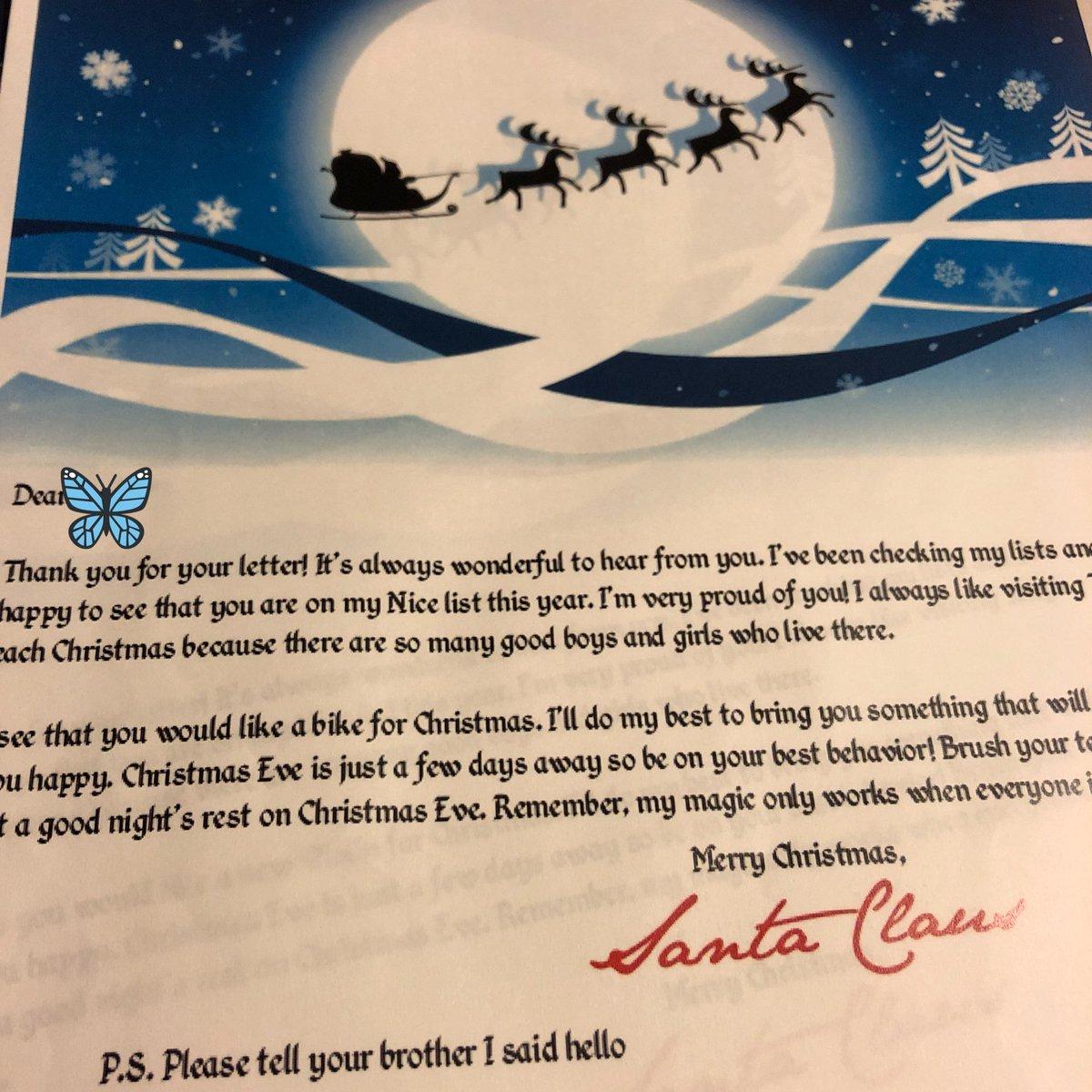ジャイアンぱんだ On Twitter サンタさんからのお手紙を無料で作れる