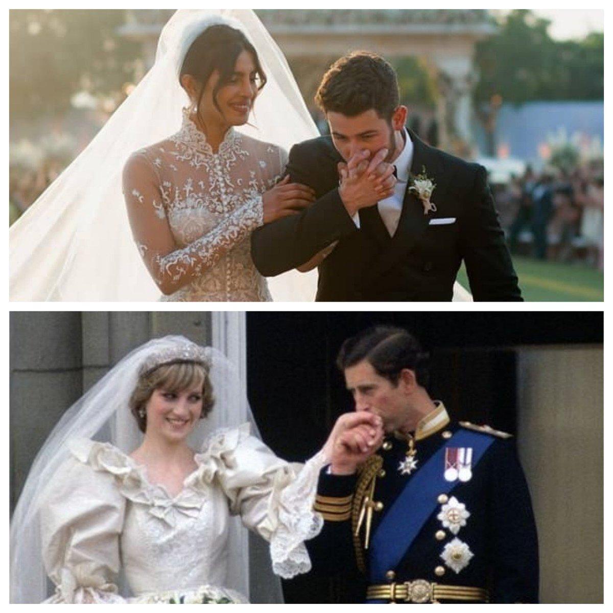 Pinkvilla On Twitter Priyanka Chopra Nick Jonas Wedding Peecee S Wedding Gown Train Reminds Us Of Princess Diana Https T Co 3exikoyo7l Priyankachopra Nickjonas Princessdiana Priyankanickwedding Https T Co Ln6vkzvsyu