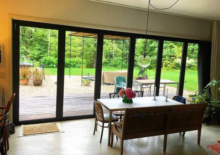 Bespoke, Hinge-Free Luxury Patio Doors Designed Without Compromise. Get Your No Obligation Quote Today! #panoramicdoorsuk #alumen #welglaze #foldingdoors #bifolds #bifold #homeimprovement #homedesign #homebuilding #interiordesign #patiodoors #customhome #newbuild #modernhome https://t.co/z34mbBk679