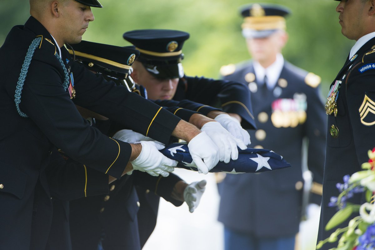 As part of our commitment to honor George H.W. Bush, the 41st President of the United States, ANC will be open during the National Day of Mourning on December 5. All funerals and ceremonies will be conducted as scheduled. (U.S.Army photo by Elizabeth Fraser, ANC)