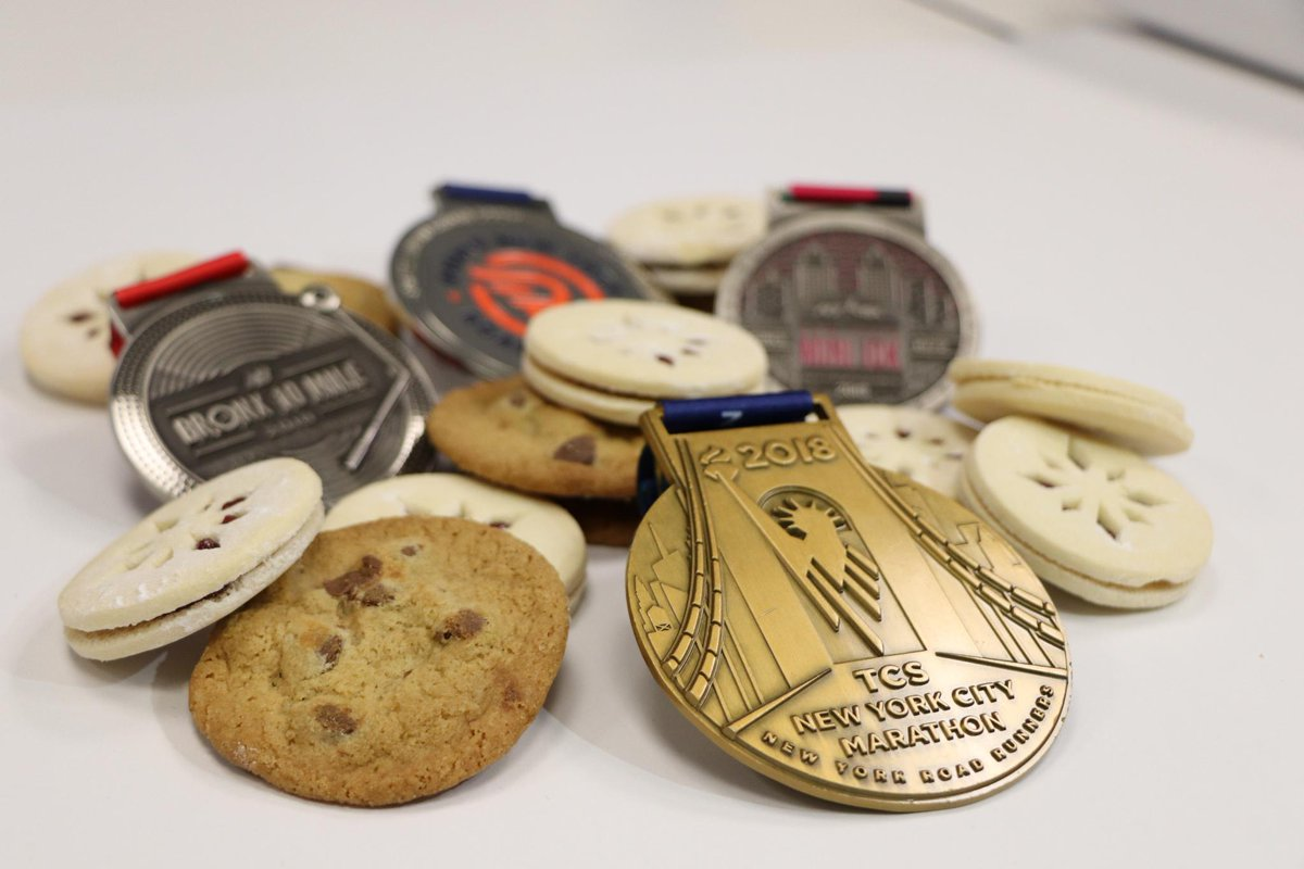 🍪Taking a bite of a cookie on #NationalCookieDay is almost as great as biting your #TCSNYCMarathon medal! Today we celebrate the sweeter things as we #GetOutToRun. Tag @nycmarathon and use #NationalCookieDay in your posts to show us how you get your cookie on.