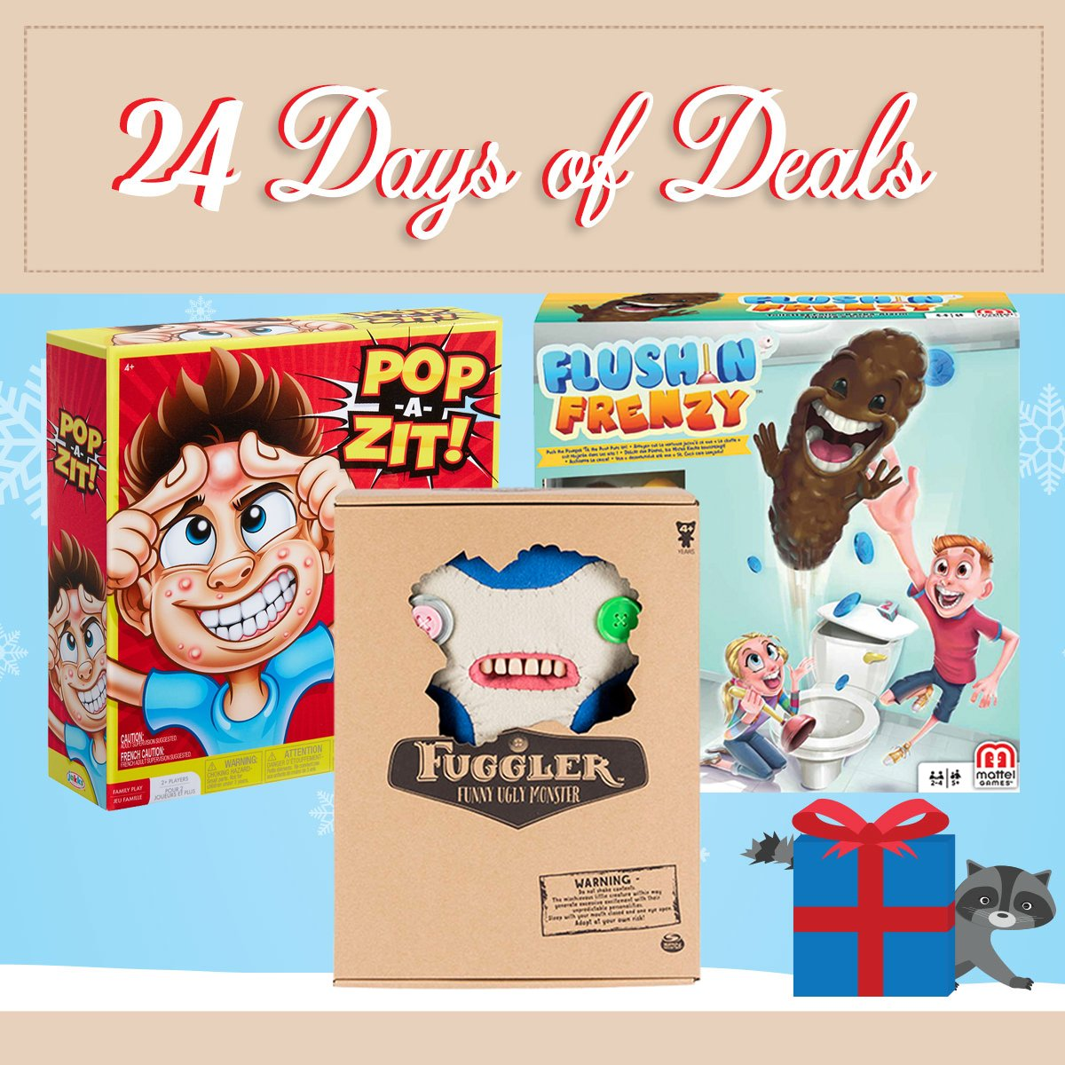9c89aa9c4e6 Today's deal: Save 20% on select toys in-store and online! Shop online  here: http://bit.ly/2UaAcmb Be sure to check back tomorrow for a new ...