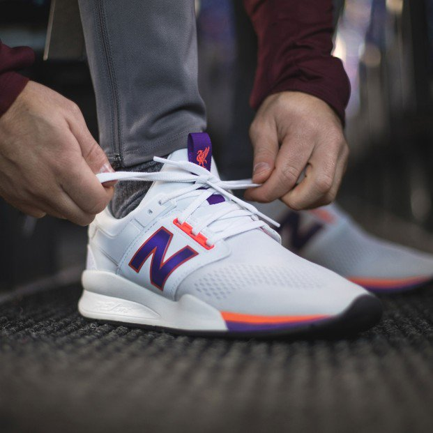 New Launched] Liverpool x New Balance 247 Sneakers!