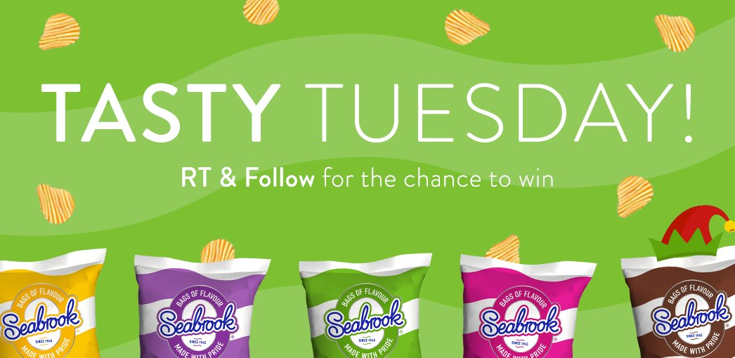 It's Tasty Tuesday! #RT & Follow for the chance to win a box of crisps! (UK Only)