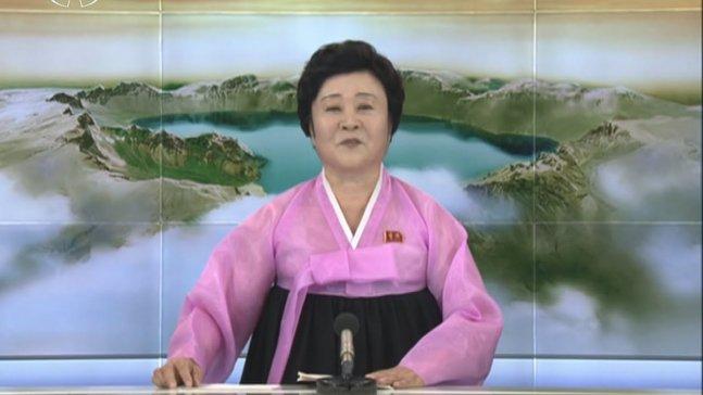 北朝鮮でチマチョゴリを着てニュースを読み上げるおばさんがついに引退 【簡単に説明すると】 ・北朝鮮でニュースを読む名物おばちゃんが引退 ・75歳で世代交代? ・今まで一人でニュースを読んでいた