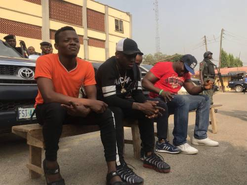 Photos and Video;Police Arrest Musician Small Doctor For Unlawful Possession Of Firearm