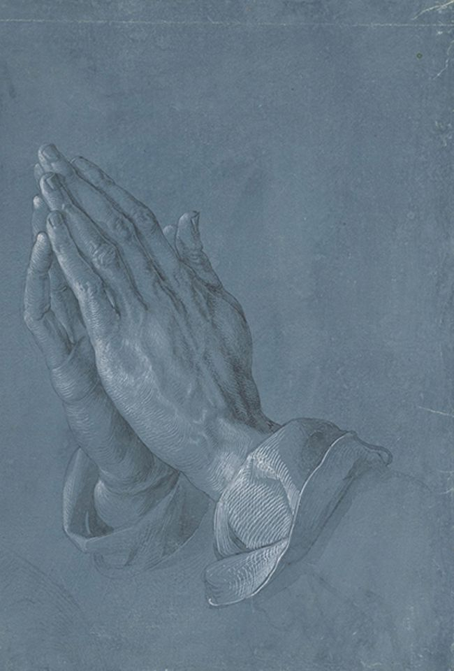 The Art Newspaper On Twitter Durer Used His Famous Praying