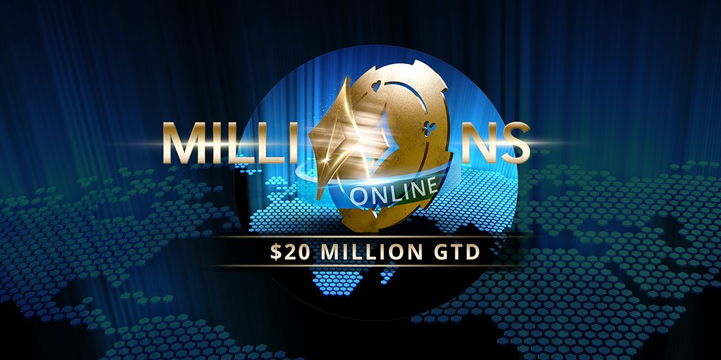 Today's the #LastChance to get into the SINGLE BIGGEST ONLINE TOURNAMENT EVER #MILLIONSOnline Day1E is at 15:00 CET, few MEGA satellites to go! Will you be part of history too? 18+ | http://begambleaware.org  | Play Responsibly