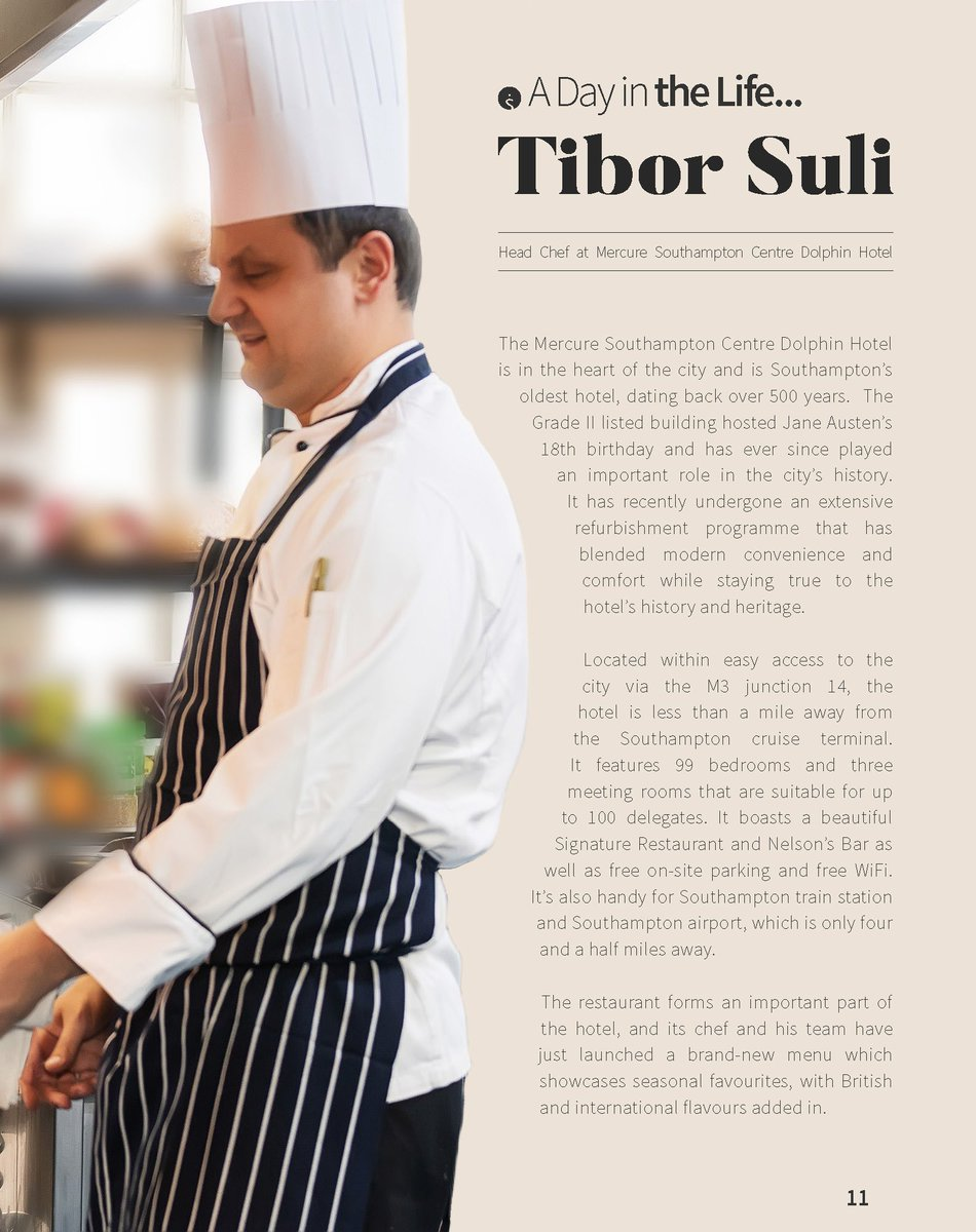 So proud of our Head Chef, Tibi!