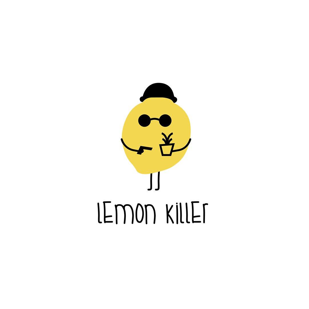 Logo concept ' Lemon Killer 🍋 ' ↳ nasibov.me/logofolio