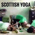 Image for the Tweet beginning: #buckfast #buckramyoga #scottishbreakfast #yoga #rageagainstthecuisine