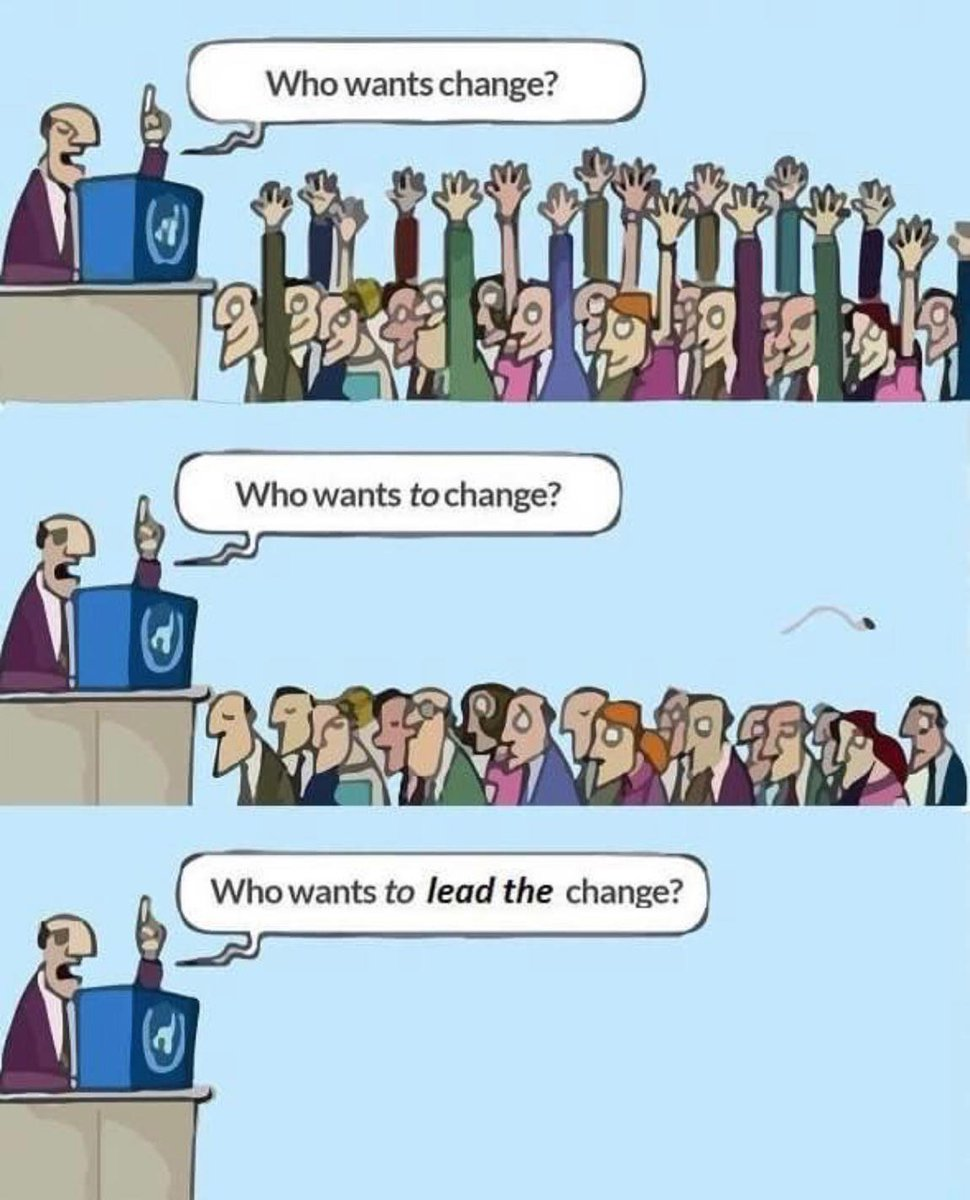 "Frederic Marmond on Twitter: ""who wants change? who wants to ..."
