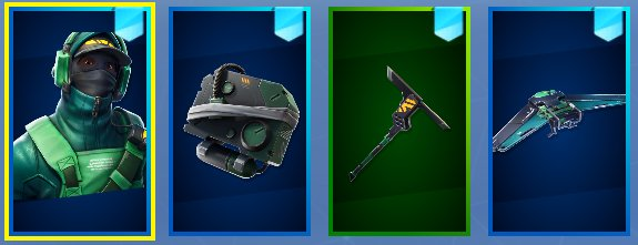Fresh On Twitter Hi Have A Look At My New Main Skin Nvidiageforce Has Given Me The New Exclusive Counterattack Set As Part Of The Promotion For There Limited Time Bundle Browse all outfits, pickaxes, gliders, umbrellas, weapons, emotes, consumables, and more. fresh on twitter hi have a look at