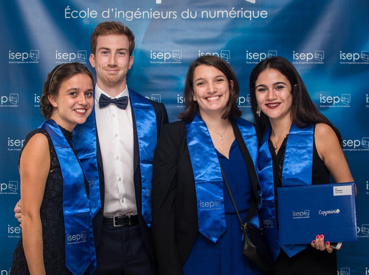 Bienvenue à ces 350 nouveaux Alumni @ISEP !! 👏🏻 A très bientôt aux conférences, afterwork, BBQ... 😀