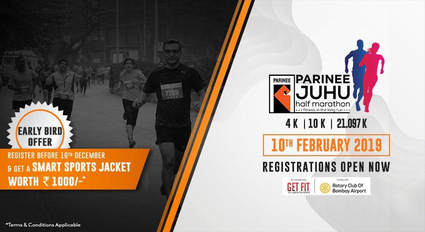 Half Marathon Calendar.Parinee Juhu Half Marathon 2019 On Twitter Block Your Calendar