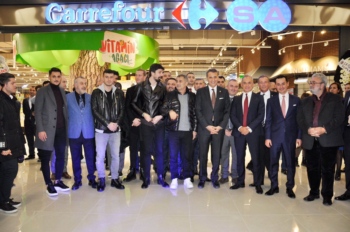 Başkanımız Fikret Orman, BJK Fulya Süleyman Seba Kompleksi'nde Yer Alan CarrefourSA Hipermarket'in Açılış Törenine Katıldı https://bjk.com.tr/tr/haber/74940/ #Beşiktaş