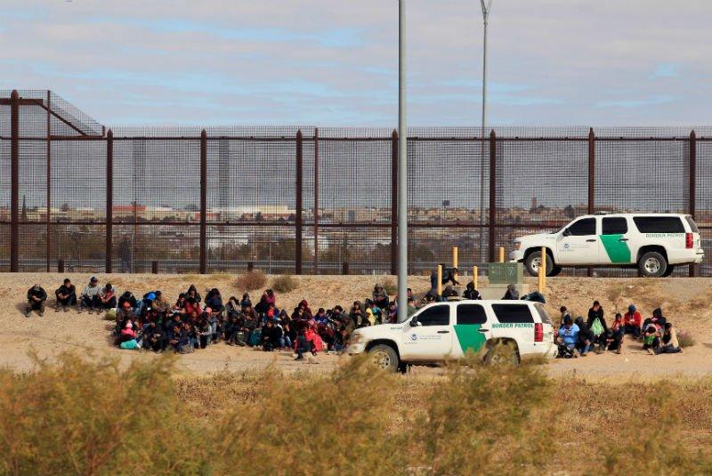 Migrantes logran llegar a Estados Unidos