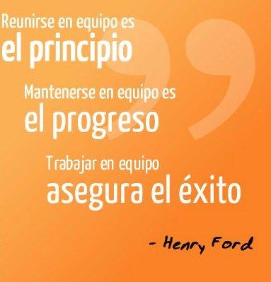 #FelizMartes 👊 Tener un optimo equipo de trabajo, multiplica los resultados. Foto