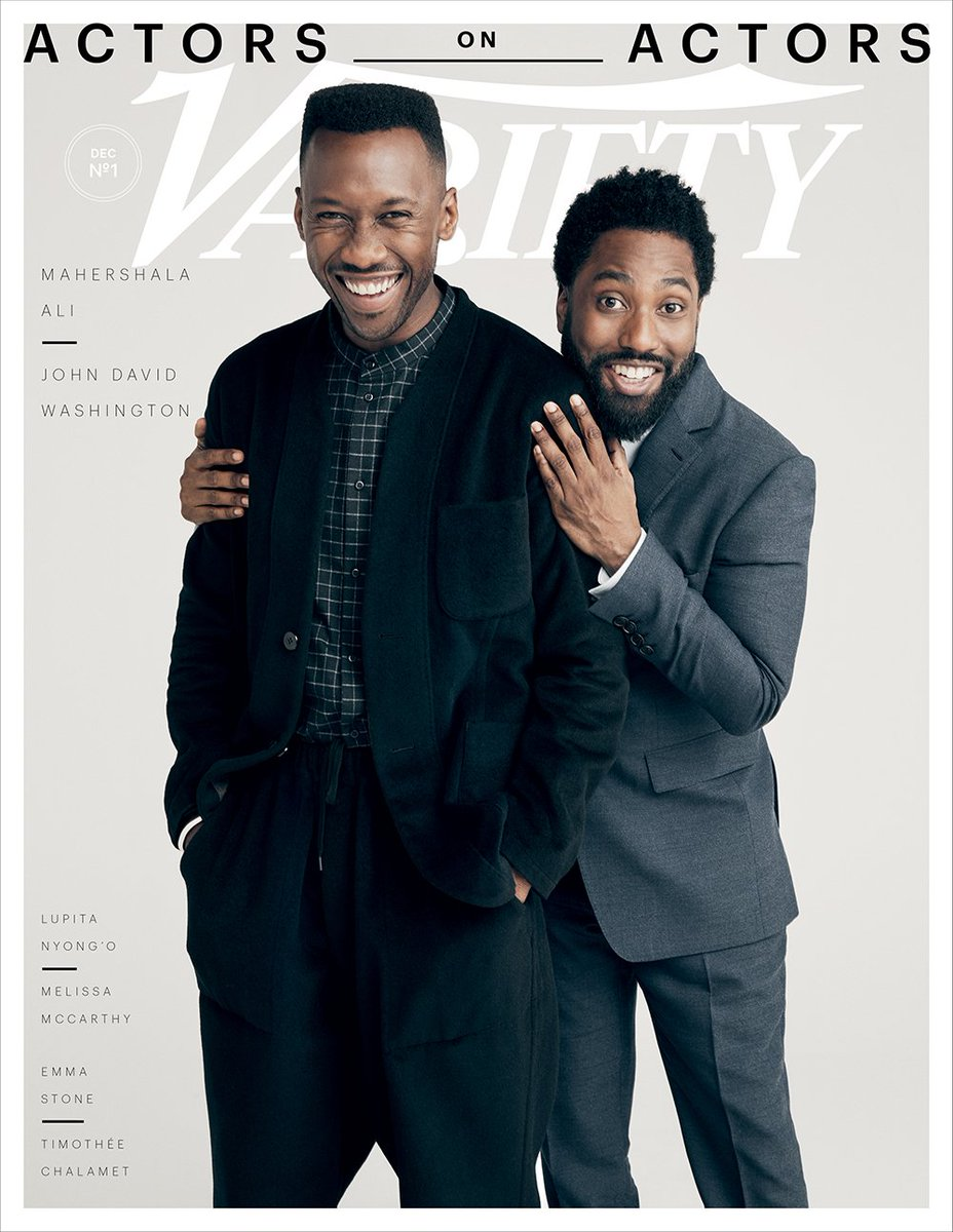 Mahershala Ali and John David Washington discuss pushing past stereotypes in Hollywood. Watch their full conversation:  http:// bit.ly/2rl5YiZ  &nbsp;   | #ActorsOnActors presented by @amazonstudios<br>http://pic.twitter.com/jyJLyZMi5n