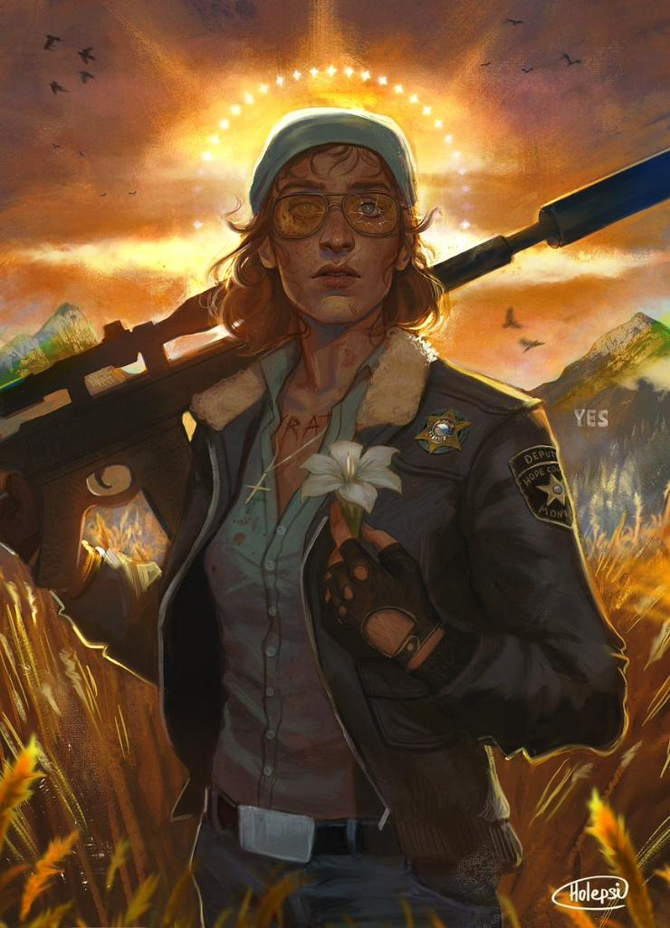 Far Cry 6 On Twitter A Gorgeous Rendition Of Hope County S Favorite Deputy By Holepsi