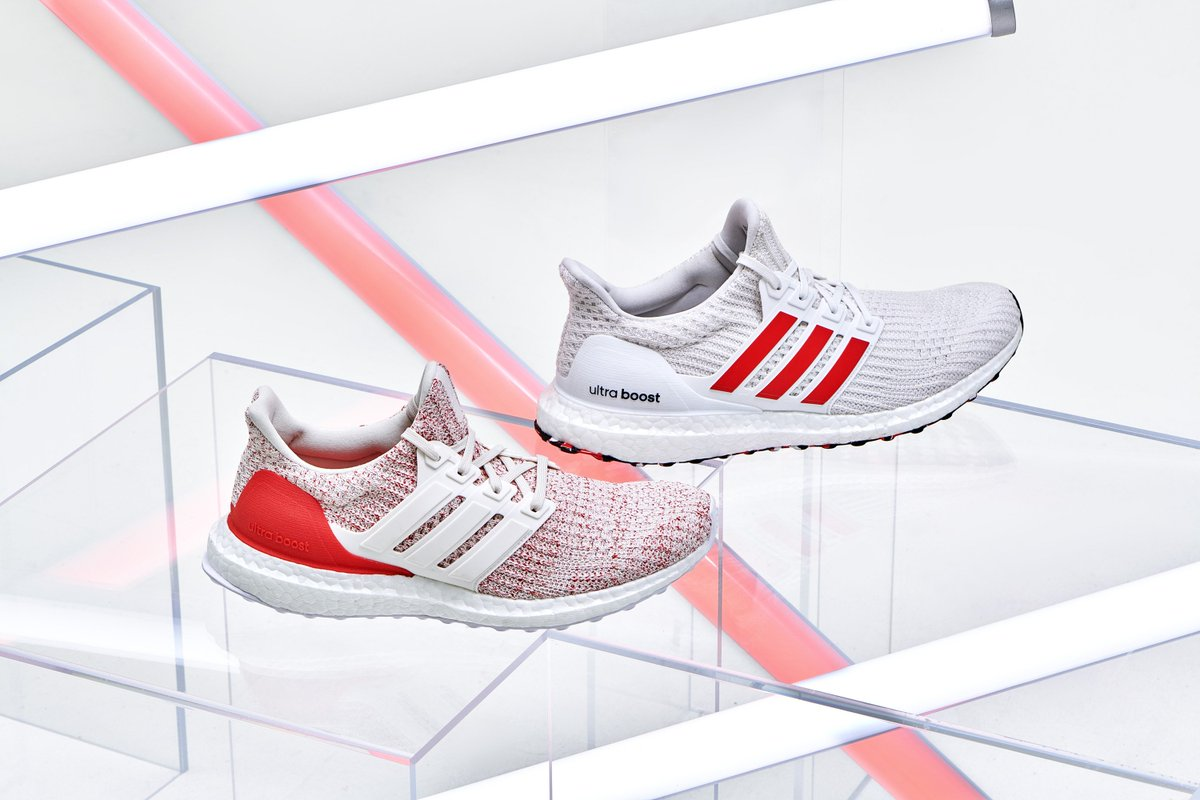 3a5c9970685e2 Ad  UNDER RETAIL via FNL adidas Ultra Boost 4.0 Active Red code  15HOLIDAYS150 for  15 off Mens http   bit.ly 2EdxffW  Womens http   bit.ly 2EdxxU4 ...