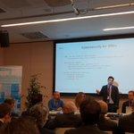 Image for the Tweet beginning: Cybersecurity for SME: @josefran_ruiz introducing