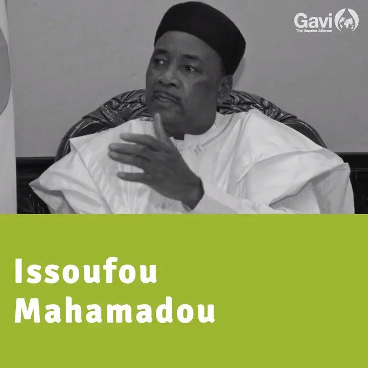"""Vaccination is an intervention. In fact when it come to public health, it's the most effective intervention ... Vaccines save lives. Vaccines are life. That's my biggest message.""  ~ Issoufou Mahamadou, President of the Republic of Niger  #GotLife"