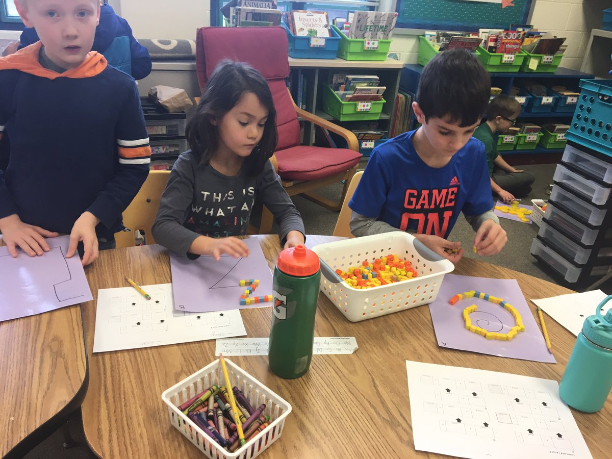 Math workshop was a hit today!