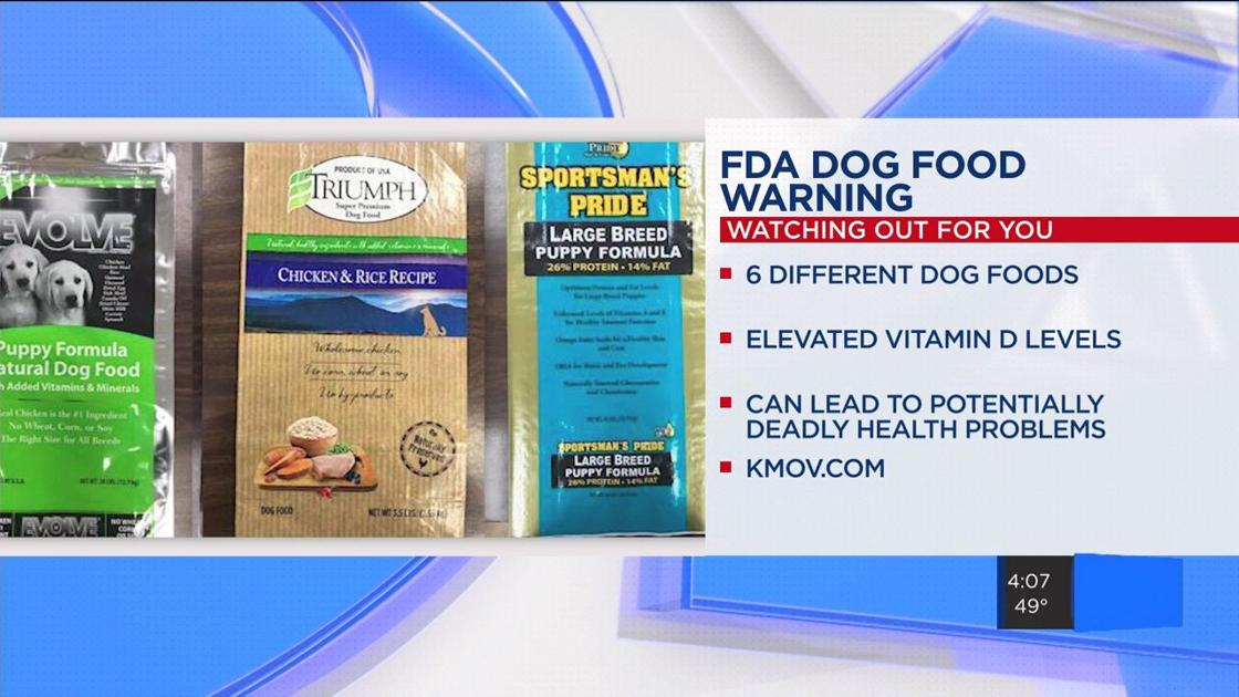 Kmov On Twitter Fda Expands Dog Food Recall 8 Brands Pulled For