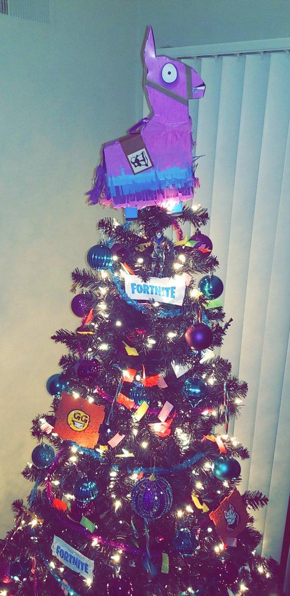 Fortnite Christmas Tree.Fortnitetheme Hashtag On Twitter