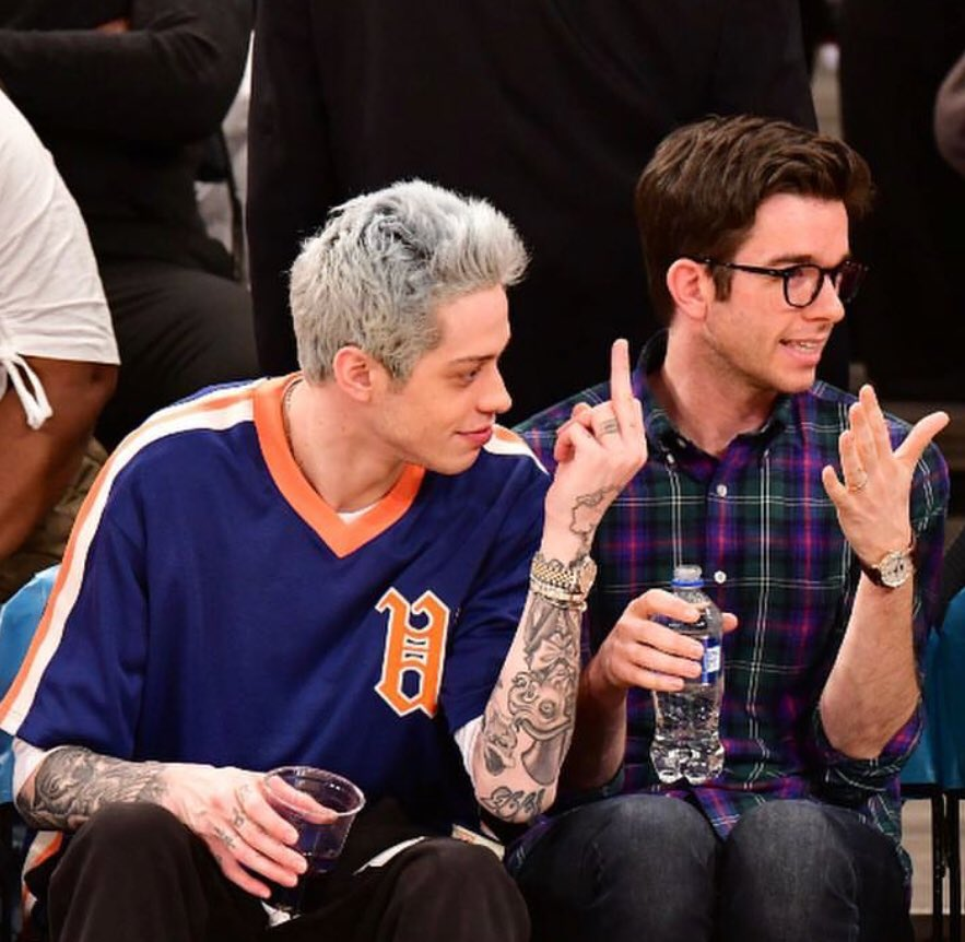 Pete Davidson explains falling off SNL stage with Machine