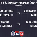 Image for the Tweet beginning: SUNDAY PREMIER CUP | Semi