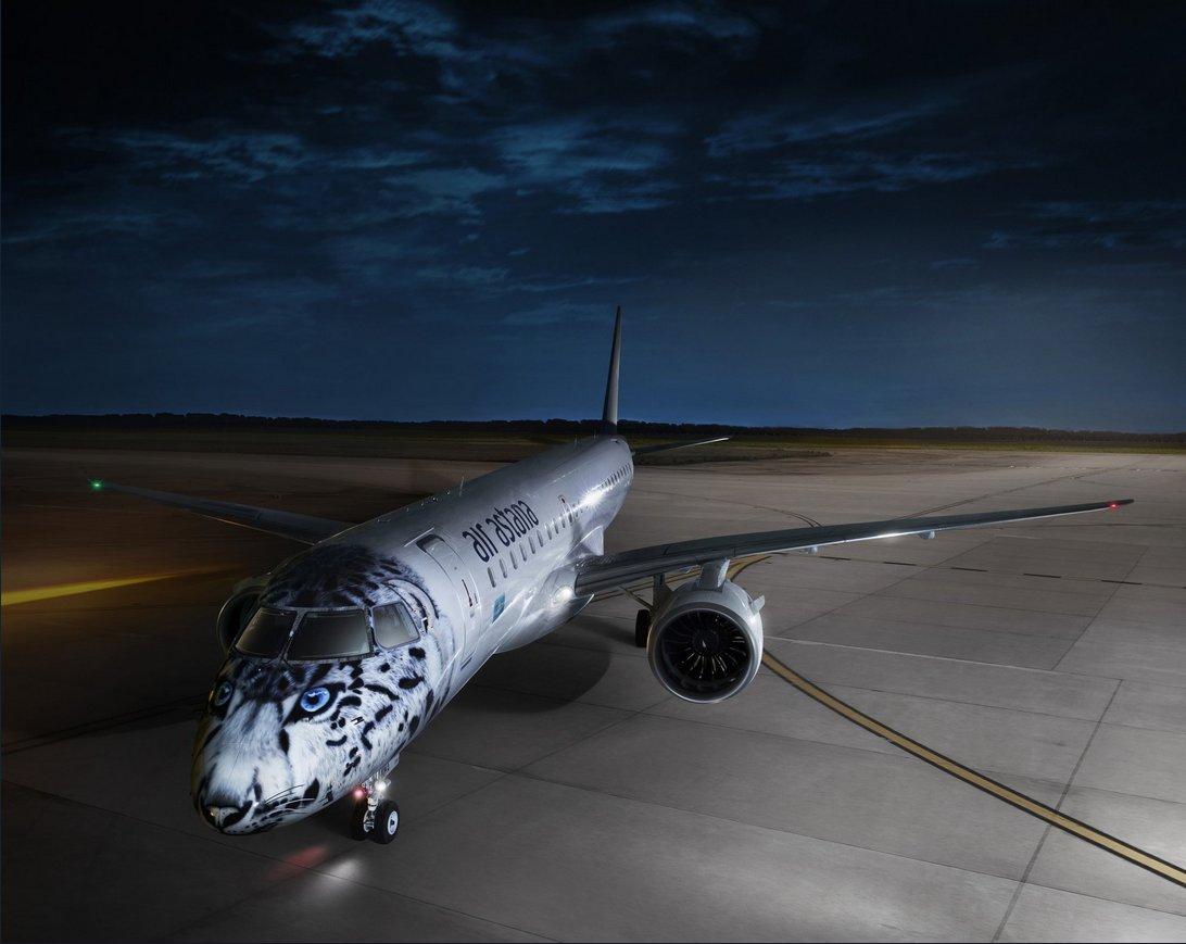 Resultado de imagen para air astana E190-e2