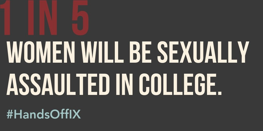 Please join @EndRapeOnCampus, @KnowYourIX and @ItsOnUs this Wednesday at 7:30pm ET for a national student activist and survivor led call about how to take action and fight back to stop Betsy DeVos and the Department of Education. Sign up here: myaccount.maestroconference.com/conference/reg… #HandsOffIX