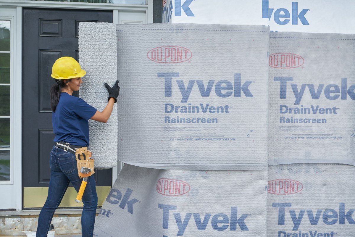 The Launch Of Tyvek Drainvent Rainscreen A Product Designed To Provide Advanced Protection Against Moisture Damage In Exterior Wall Systems