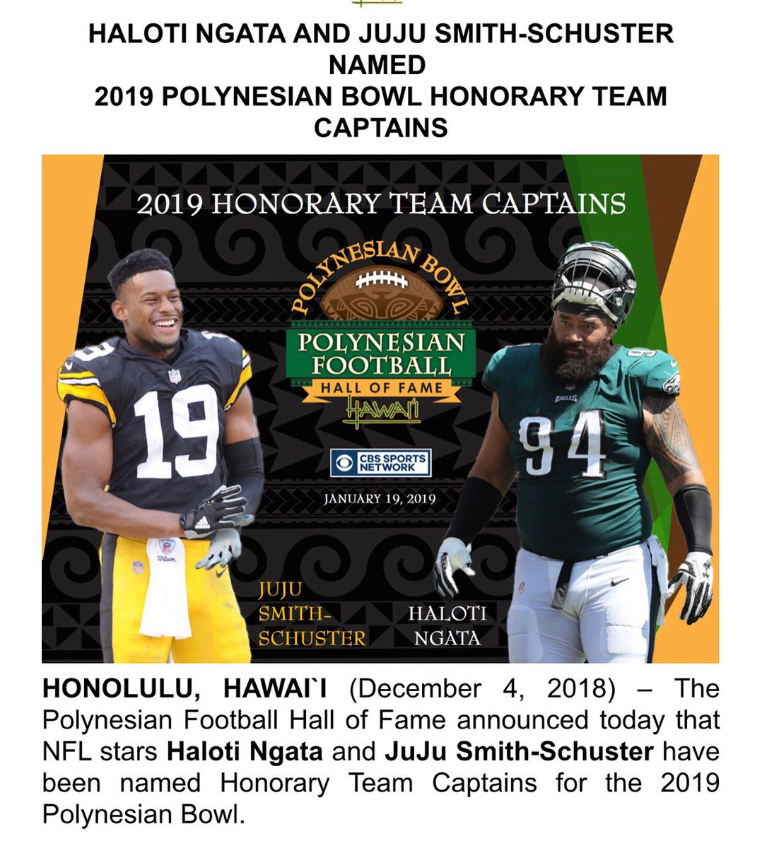 So honored to be one of the coaches for the Polynesian Bowl!! Thank you for this honor @polynesiabowl 🙌🏾🙌🏾