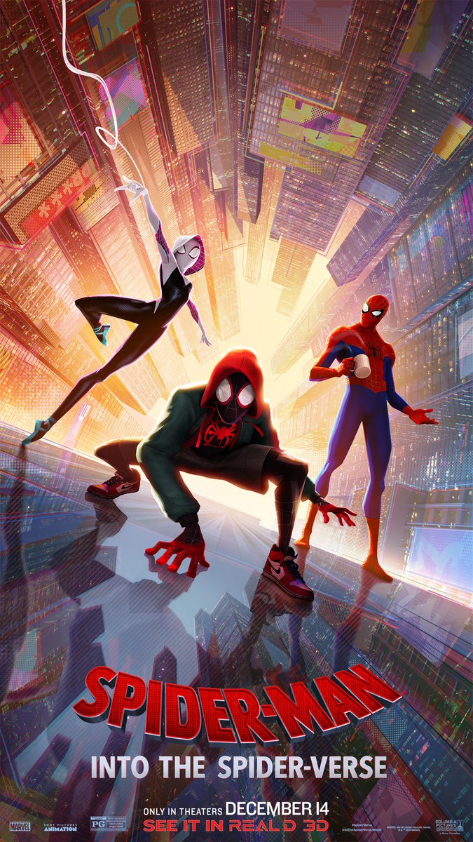 into the spider verse 3d blu ray uk
