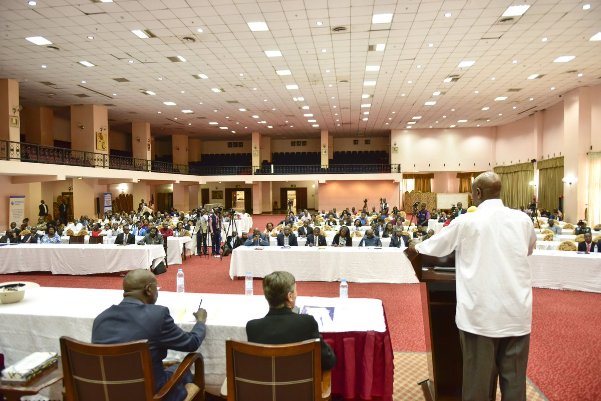On December 10th, I will announce new measures in our renewed fight against corruption. That said, there is corruption in Uganda. It stems from the colonial times. However, when we undertook the liberation struggle of this country, there were more pressing problems to attend to.