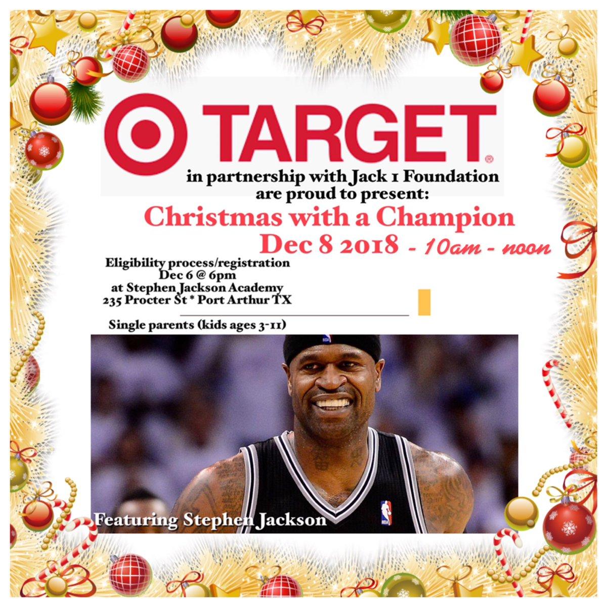 """Target   Stephen Jackson  DaTrillStak5 partner for """"Christmas 7763d6a33"""