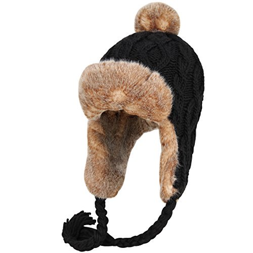 c5edd48e60c35c ... Deals - News - https://monkeyviral.com/omechy-knitted-hat -with-ear-cover-braid-winter-warm-beanie-earflaps-for-womenblack/  …pic.twitter.com/NeKUXTl2SI