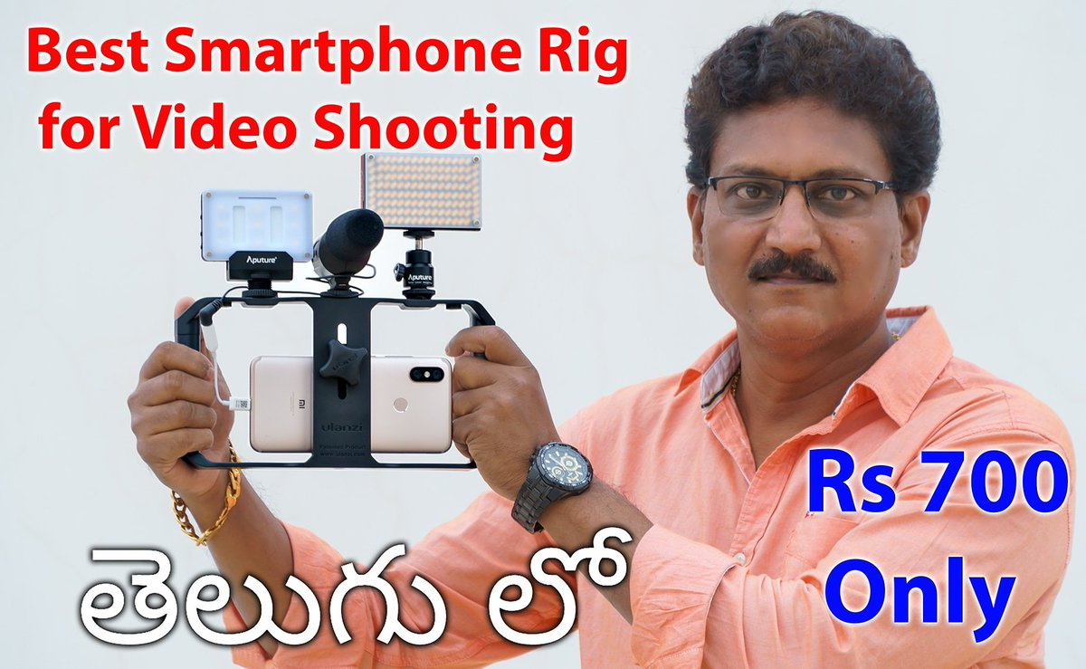 ba9f94fd2051 ...  video  rig in  budget for  film  makers  unboxing    review in  telugu  watch the  video on my  youtube  channel Link in Bio .pic.twitter.com nbKxbUTFDi
