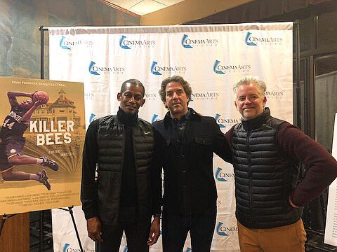 test Twitter Media - Huge thank you to everyone who came out to the #KillerBeesMovie screening and Q+A last night at the @CinemaArts Centre! We had a blast! 🏀🐝 https://t.co/ERk3CYAN4K
