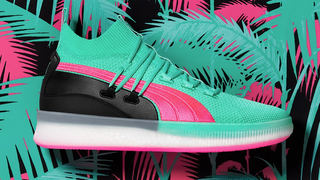 6c52439eb4a south beach vibes the puma clyde court ocean drive arrives on 12 8 puma