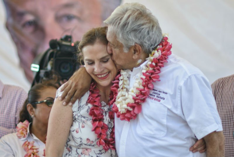 Funcionarios expresan su más sentido pésame a Beatriz Gutiérrez Müller https://t.co/Jw7gXLIJQh
