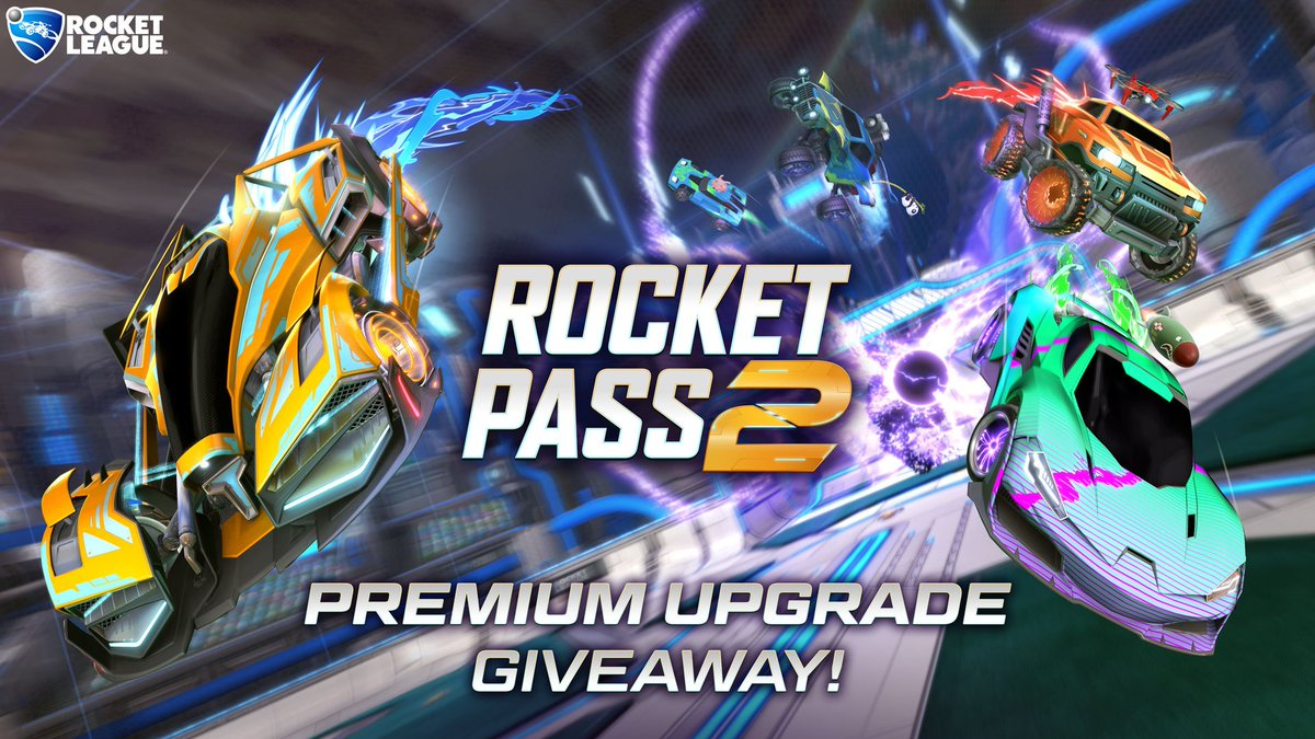 GIVEAWAY TIME! @RocketLeague and I are combining forces to give away 5 #RocketPass2 Premium Upgrades! Follow and retweet by 8pm GMT on 8th December to enter, all platforms! Huge thanks to @PsyonixStudios for the upgrades! #ad<br>http://pic.twitter.com/X3h2U8YqWe