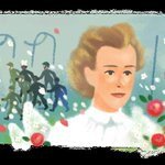 Image for the Tweet beginning: Nurse Edith Cavell, who would