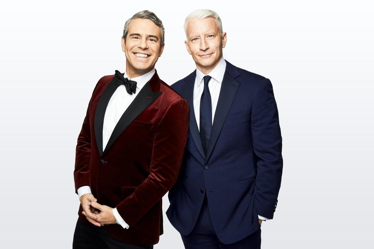 They're back!  &  return to co-host 's New Year's Eve coverage live from New York City's Times Square on Monday, December 31st starting at 8pm ET  https://t.co/5svxYC016l#CNNNYE