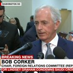 Republican Senator Bob Corker says there is zero question that Saudi crown prince MBS ordered the killing of #Khashoggi. And if he was in front of a jury, he would be convicted in 30 minutes. Guilty.