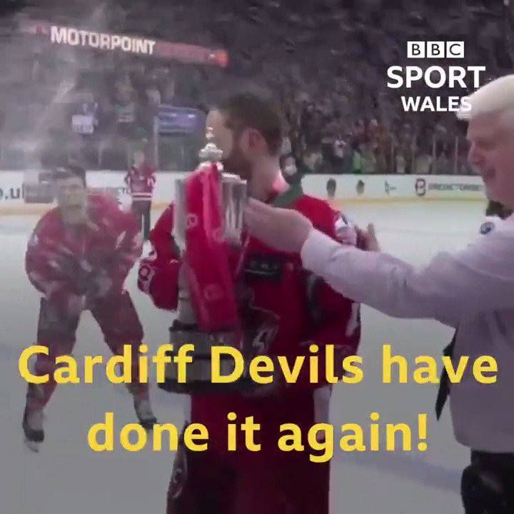 On A Sunday Over Cardiff Bay........Congrats Devils!